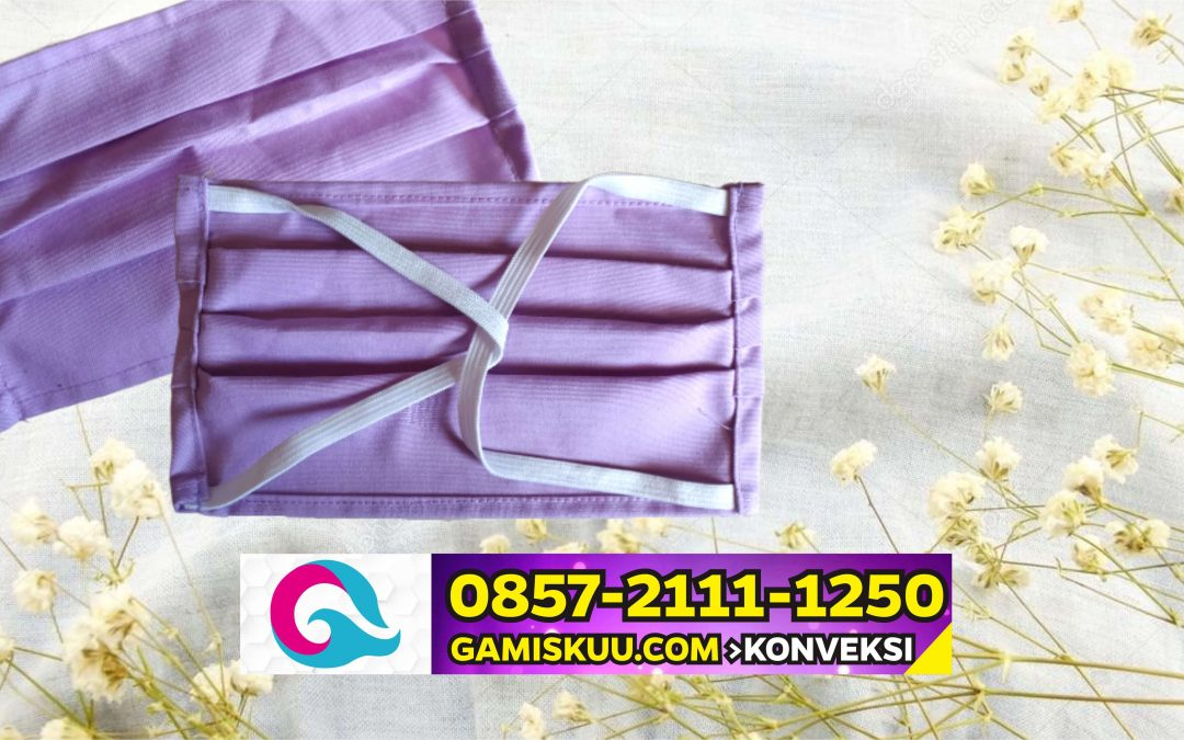 GAMISKUU.COM 0857 2111 1250 > Grosir Distributor Masker Kain Mungkid
